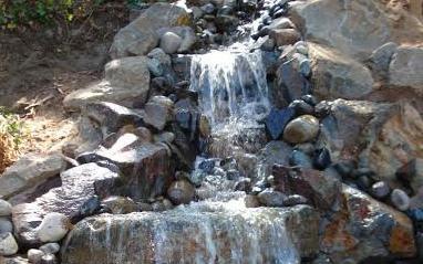 自然硬景观水景